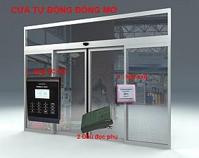Bộ kiểm soát cửa và chấm công 6