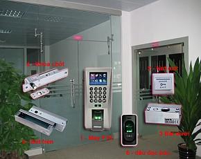 Bộ kiểm soát cửa và chấm công 7