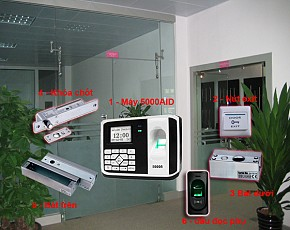 Bộ kiểm soát cửa và chấm công 8