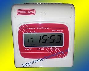 Máy chấm công thẻ giấy Wise Eye WSE-2600D