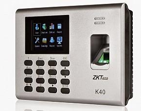 Máy chấm công vân tay ZKTeco K40