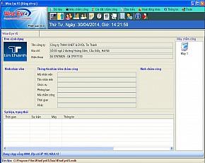 Phần mềm chấm công Wise eye V5