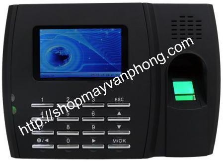 Máy chấm công vân tay ZKSoftware U300-C Màn hình màu, may cham cong