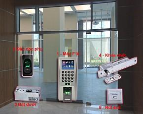 Bộ kiểm soát cửa và chấm công 1