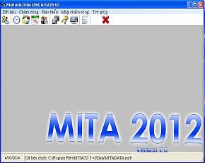 Phần mềm chấm công Mitaco 2012