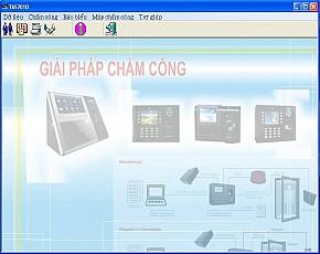 Phần mềm chấm công TAS2010