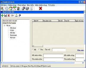 Phần mềm chấm công Tita2013